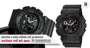 [Review] 4 mẫu đồng hồ G-Shock chính hãng không thể bỏ qua