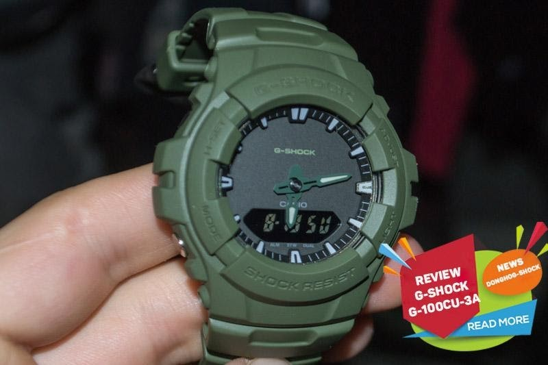 Website review đồng hồ Casio G-Shock