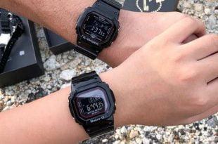 Đồng hồ đôi Casio SLV-18B-1