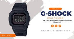 TOP 4 mẫu đồng hồ điện tử nam Casio có thiết kế đẹp nhất