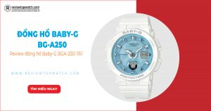 Review đồng hồ Baby-G BGA-250-7A1