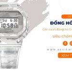 Review đồng hồ G-Shock GM-5600SCM-1 siêu chảnh