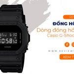 G-Shock DW-5600 – Dòng đồng hồ huyền thoại của Casio