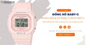 Review đồng hồ Baby-G BGD-560-4